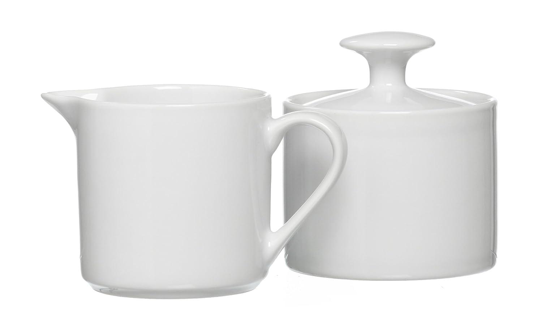 Ritzenhoff & Breker Bianco 097283 Sugar Bowl and Milk Jug Set 2 Pieces