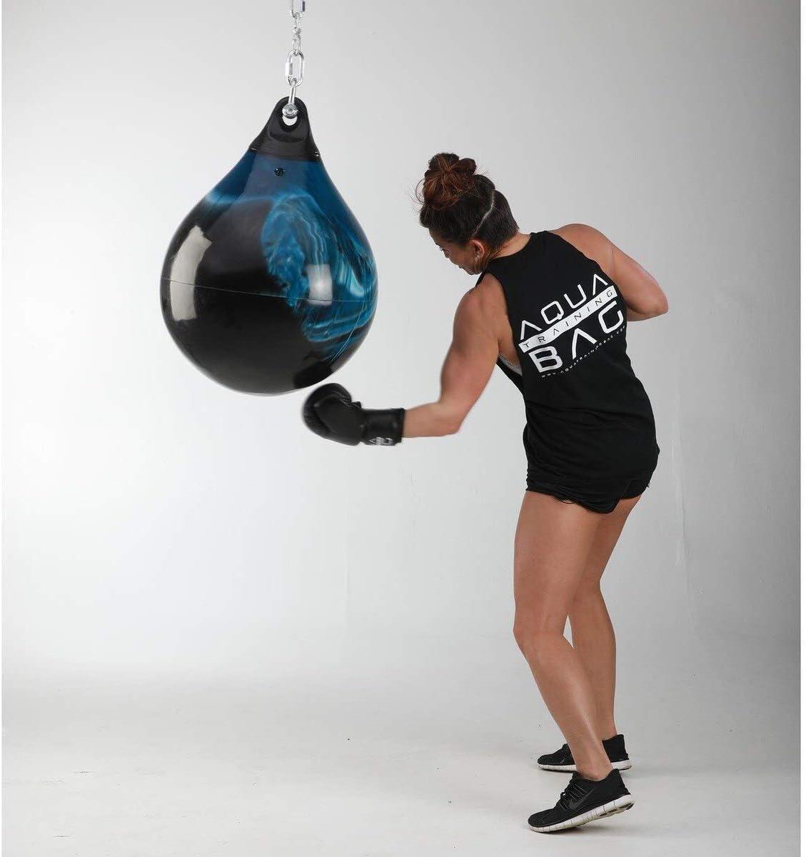Fireball Orange Aqua Punching Bag 18