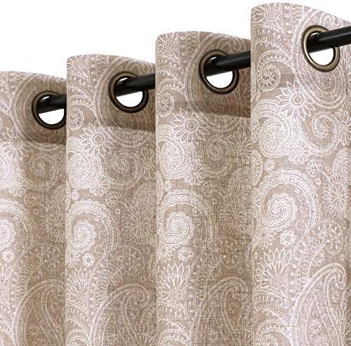 jinchan Linen Textured Curtain