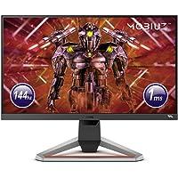 "BenQ MOBIUZ EX2510 – Monitor Gaming de 24.5"" Full HD, HDRi IPS, 144Hz, 1ms, AMD FreeSync Premium, Gris Oscuro"