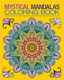 Mystical Mandalas Coloring Book Chartwell Coloring Books Patience