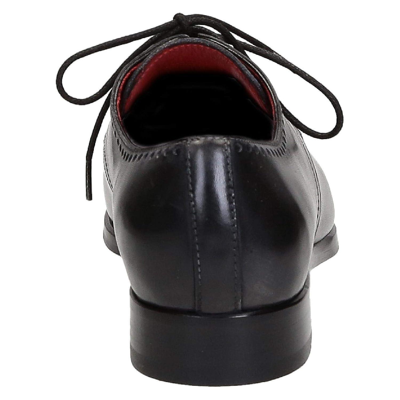 Leonardo Schuhes Herren 06437DELAVEGRIGIO Grau - Leder Schnürschuhe - Grau 0dcd50