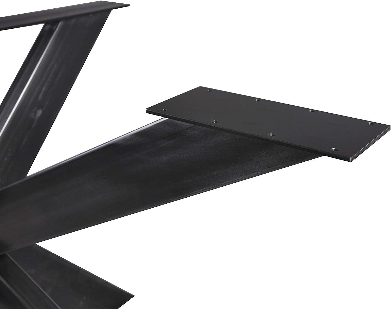 Indutrial Magnetic Mobel Tischgestell Spider Tischbeine Kreuzgestell Schwerlast Tischkufen Stahl Metall Esstisch Schreibtisch Konferenztisch