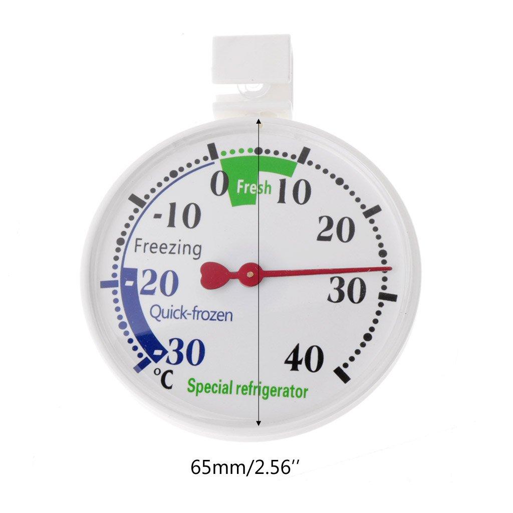 Youliy termómetro para nevera, frigorífico, congelador ...
