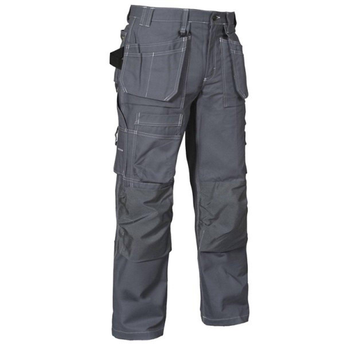 Blaklader Workwear Craftsman Trousers Grey D84 (30S UK)