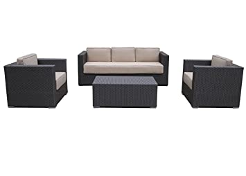 Wicker patio furniture miami weather conditions and teak for Belmont brown wicker patio chaise lounge