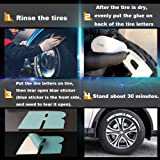 ALORR Tire Stickers for Michelin, Tire Decals Kit