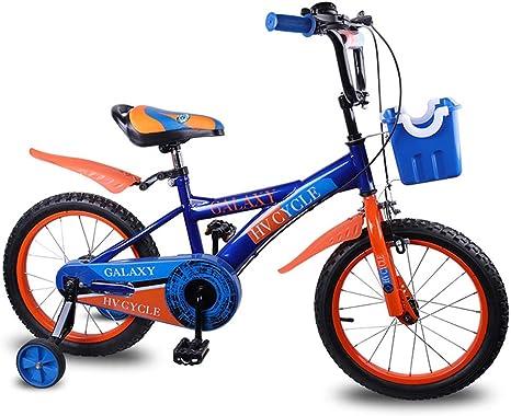 YTBLF Bicicletas para niños y niñas, una Bicicleta de Ejercicios de Equilibrio de 16 Pulgadas, Adecuada para niños y niñas de 3 a 7 años: Amazon.es: Deportes y aire libre