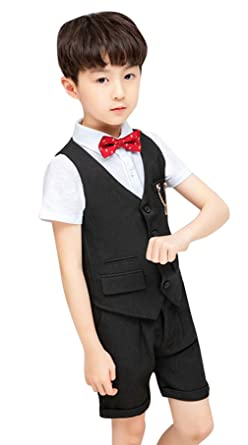 Disfraz de niño de Boda para bebé o niño, 5 Piezas, Chaleco ...