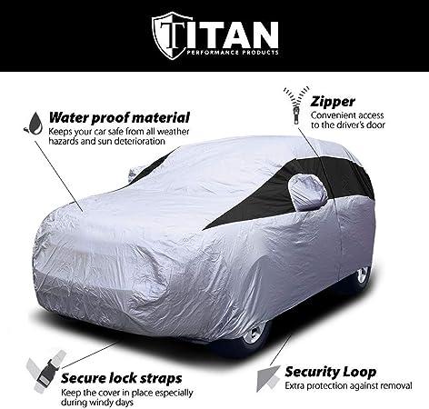 Onwards to fit Vauxhall Grandland X 2018 Titan Waterproof Car Front Seat Covers Black