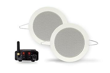 Aquasound Bluetooth Music Center Mit Wasserdichte Amazonde Elektronik