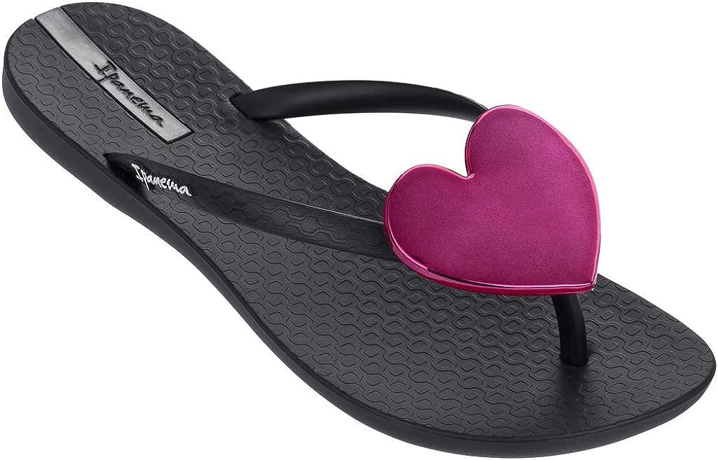 Ipanema Womens Wave Heart Flip Flop