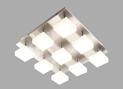 Plafoniere Led A Soffitto : Led lampada soffitto plafoniera spot da parete bianco caldo