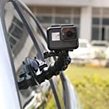 TELESIN Jaws Flex Suction Cup Car Mount Holder with