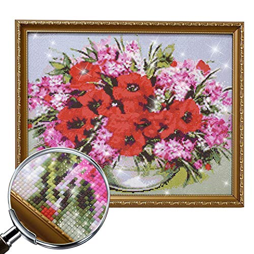 Wild-lOVE Full dispaint/Square/Round Drill 5D DIY Diamond Painting Animal cat Embroidery Cross Stitch 3D Home Decoration a12848,Square Drill 120x120 by Wild-lOVE (Image #3)