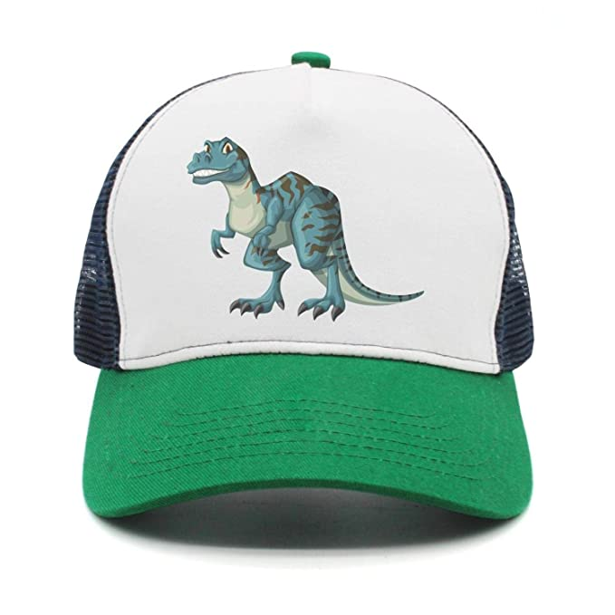 Image Unavailable. Image not available for. Color  Women s Men s Adjustable  Baseball Cap mesh Snapback Cool T-Rex Dinosaur Trucker Hat 0b5badee0a7b