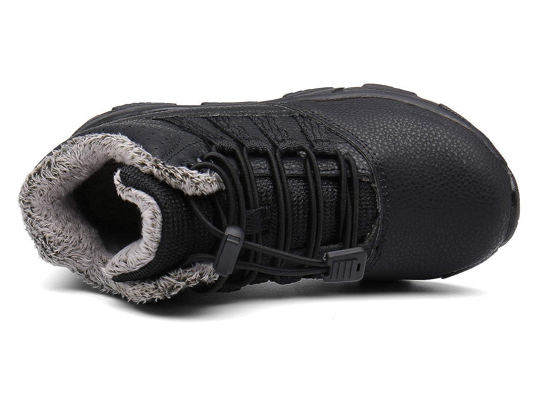 Scarponi da Neve Unisex Bambini,Stivaletti Pelliccia Stivali Bambino Sneaker Sportive Esterne Scarpe Invernali EU 23-37