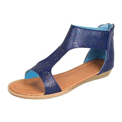 Chaussures Romain Yying Sandales Plate Peep Ancien Mode Toe Femme TXkOPZui