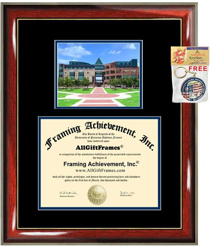 Amazon Com University Of Texas San Antonio Diploma Frame Campus Picture Graduation Gift Utsa Degree Frame College Plaque Holder Case Certificate Framing