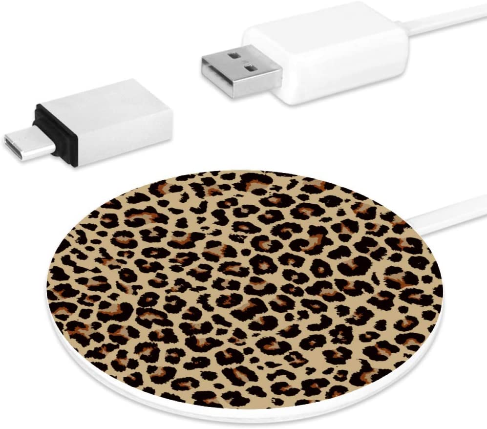 rogueDIV Leopard Pattern Design Ultra Slim Wireless Charger