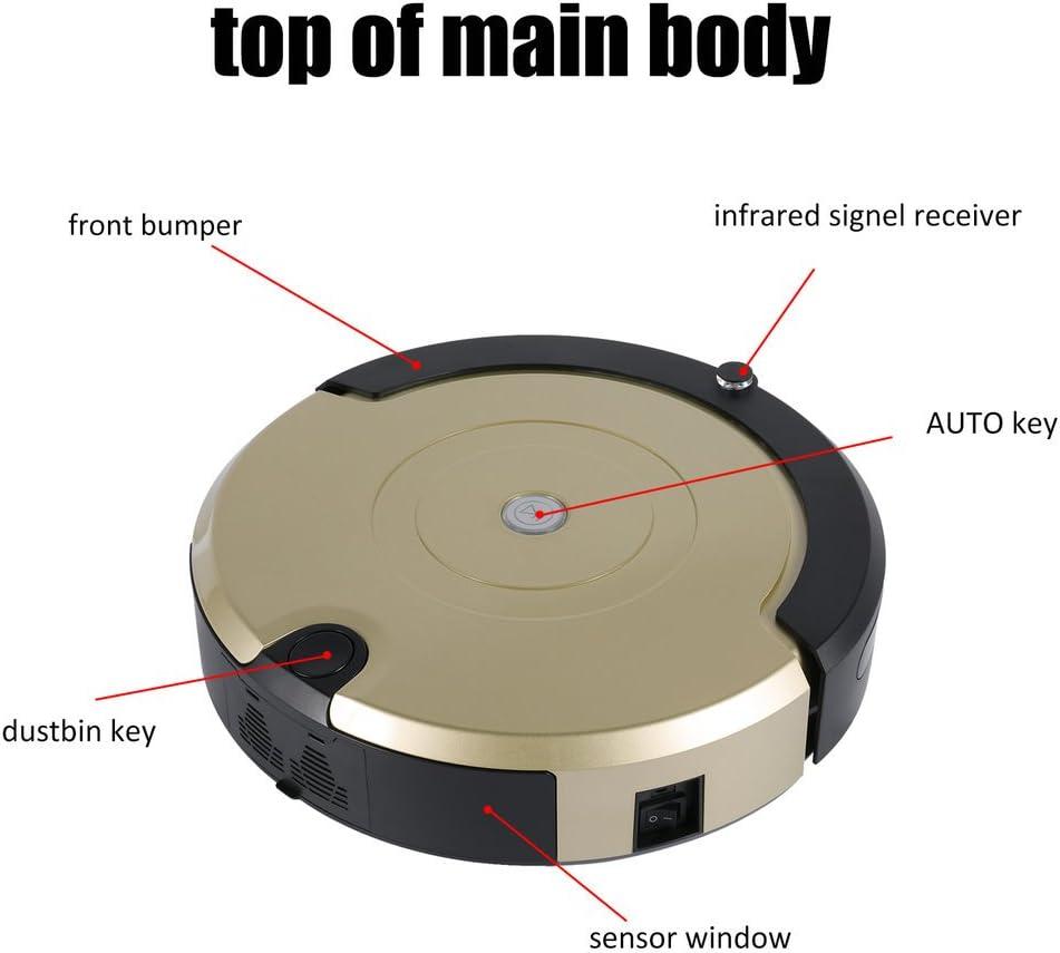 ICOCO - Robot aspirador ultrasilencioso con mando a distancia ...