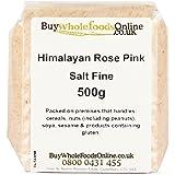 Himalayan Rose Pink Salt Fine 500g