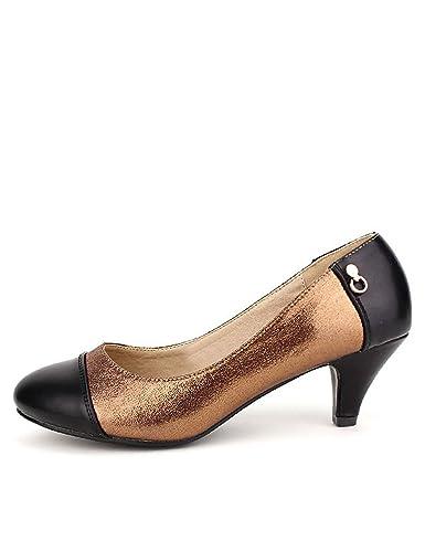 Mode Chaussures Bronze Paillettes Cink CendriyonEscarpin Femme c534LqARjS