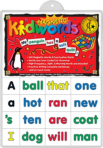 Barker-Creek-Office-Products-Learning-Magnets-Kid-Words-LM-2600