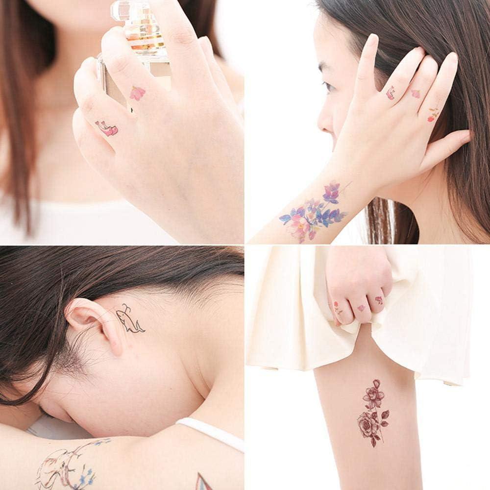 FOONEE 60 Piezas de Tatuajes temporales Personalizados, Tatuaje ...