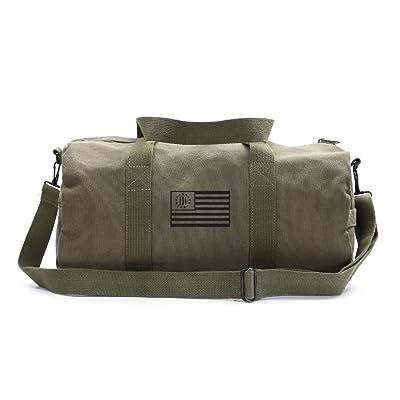 Three Percenter American Flag Sport Heavyweight Canvas Duffel Bag hot sale 2017