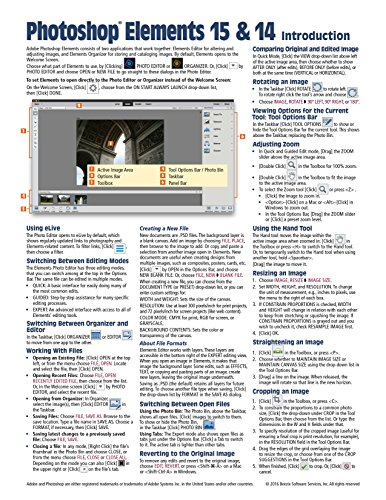 adobe-photoshop-elements-15-and-14-introduction-quick-reference-guide-cheat-sheet-of-instructions-ti