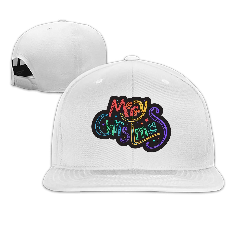 ShirAbe Merry Christmas Denim Hat Adjustable Mens Casual Baseball Caps