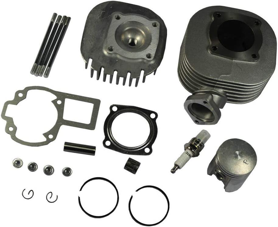 Cylinder Piston Gasket Set Top End Rebuild Kit for Suzuki LT80 LT 80 1987-2006 Replaces 11210-40B01