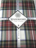 Waterford Table Linens Stewart Plaid Red/Green 100% Polyester Assorted Sizes (70 x 144)