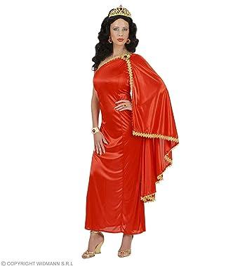 Widman - Disfraz de emperatriz romana para mujer, talla L (S/56093)