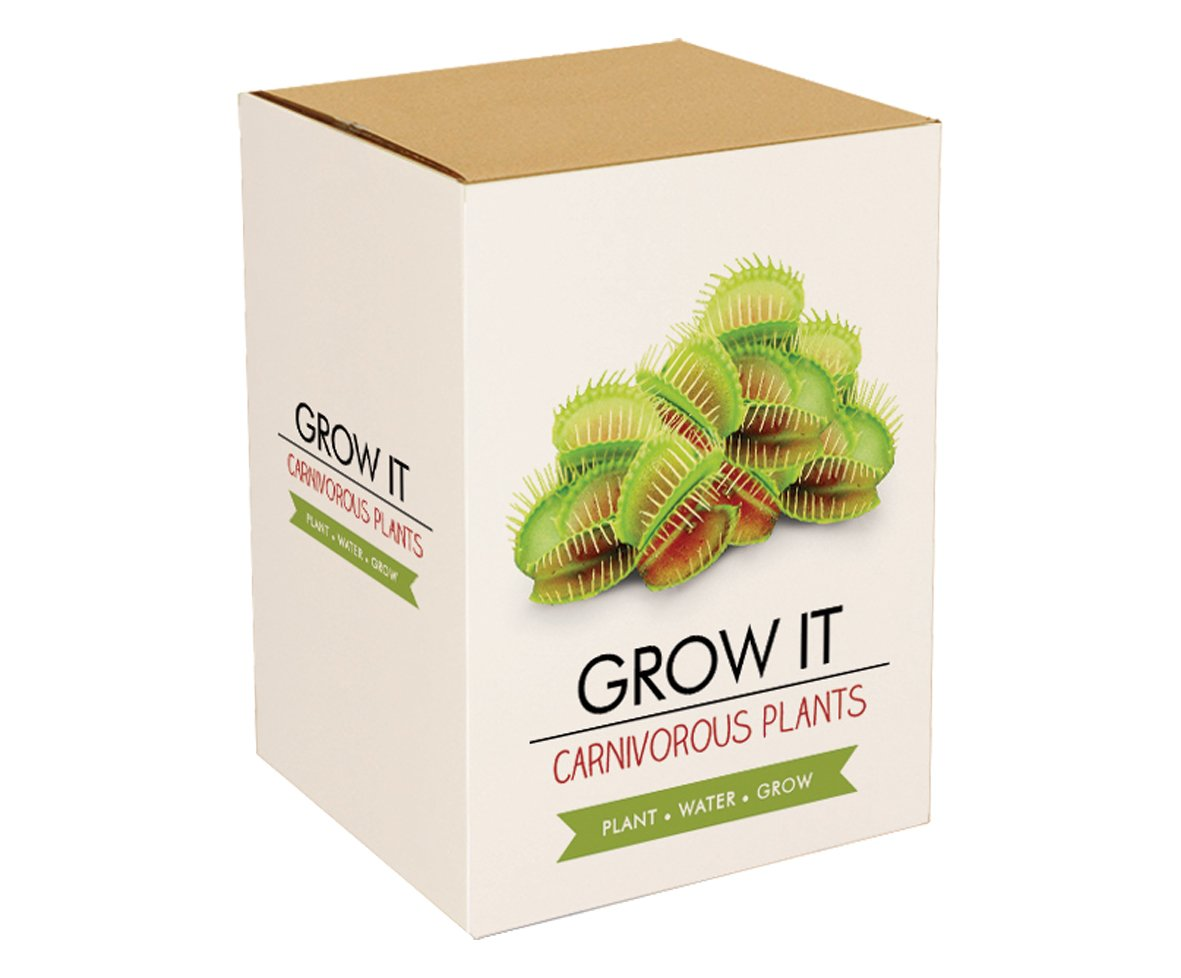 Gift Republic: Grow It. Grow Your Own Carnivorous Plants Gift Republic Ltd GR200010 Carnivorous Plants Grow It Carnivorous plant seeds