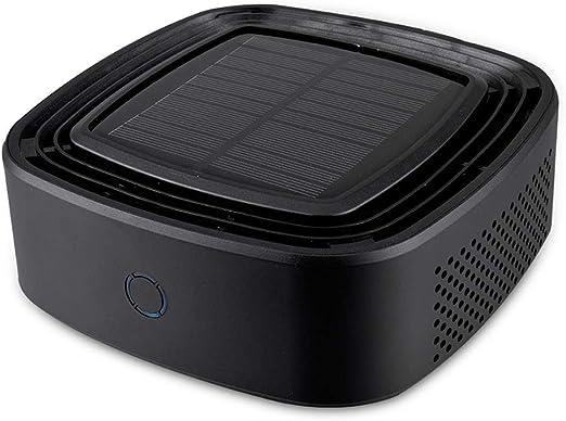Hokaime Purificador de Aire Solar para Coche Accesorios para ...