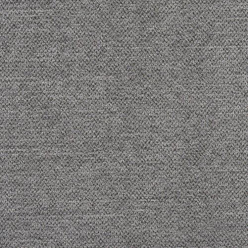 Oxford Gray Plain Crypton Stain and Abrasion Resistance Fabric by the yard -