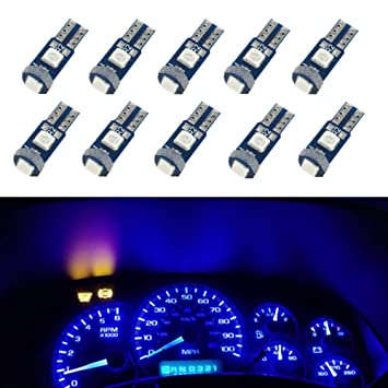 ... Canbus Libre De Errores Bombilla LED azul 79 85 86 2721 Super Bright 3030 SMD luz LED Car Interior Dome Mapa Luces de Cortesía: Amazon.es: Coche y moto