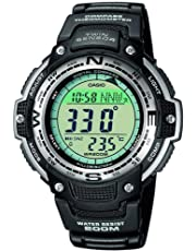 CASIO Men's CASIO TWIN SENSOR OUTGEAR WATCH, Black