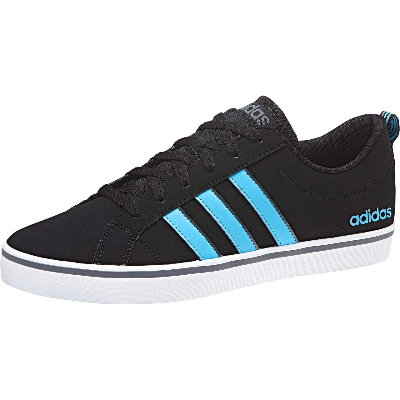 Adidas Vs Pace, Chaussures de Fitness Fitness de Homme 40 2/3 EU|Noir (Core Black/Bright Cyan/Onix) 4ceee4