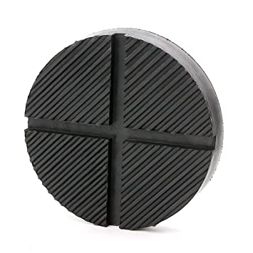 Large Universal Polyurethane Slotted Floor Jack Pad Frame Rail Adapter Pinch