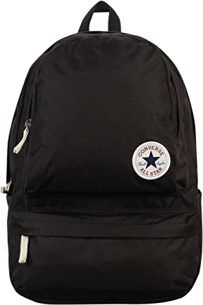 5f16b6d30ed2 Converse Core Chuck Plus Backpack - Black  Amazon.co.uk  Clothing