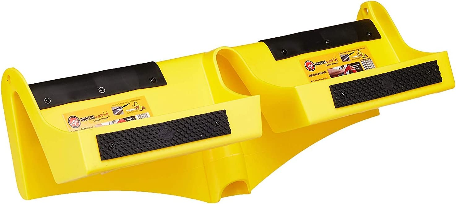 2PACK Roofers 220539 RT-lm Mount Ladder Stabilizer That Fits Inside Gutters RT-LM 2 Roofers RW