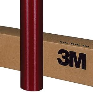 3M 1080 M203 MATTE RED METALLIC 3in x 5in (SAMPLE SIZE) Car Wrap Vinyl Film