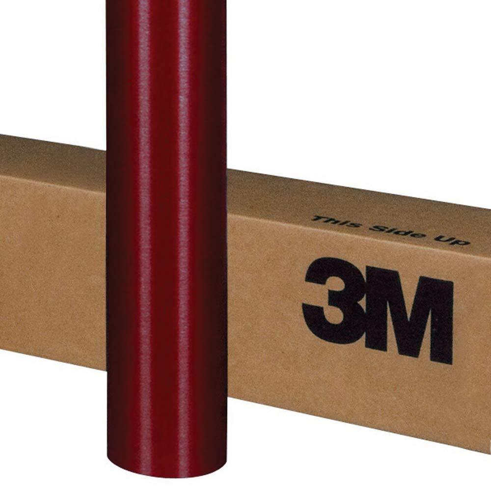 3M 1080 M203 MATTE RED METALLIC 5ft x 1ft Car Wrap Vinyl Film 5 Sq//ft