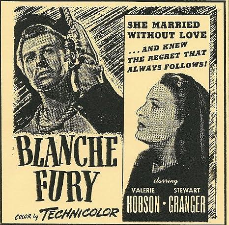 Amazon.com: Blanche Fury: Valerie Hobson, Stewart Granger, Michael ...