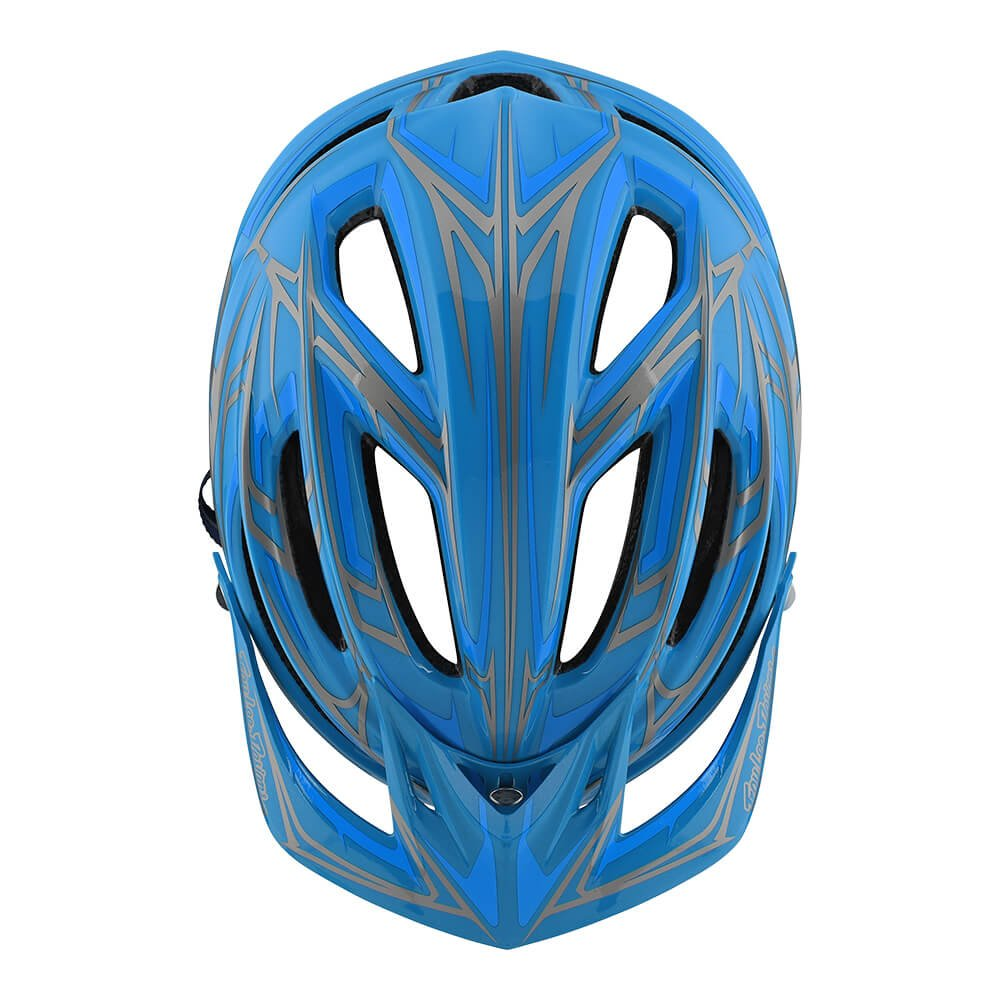 Troy Lee Designs A2 Pinstripe 2 Mountain Bike Adult Helmet 2018 with MIPS Protection and X-Static Liner meets/exceeds CPSC CE-EN AS/NZS Medium/Large Ocean Blue by Troy Lee Designs (Image #3)