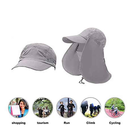 56205574bd206 Amazon.com   RAIN QUEEN Fishing Hat