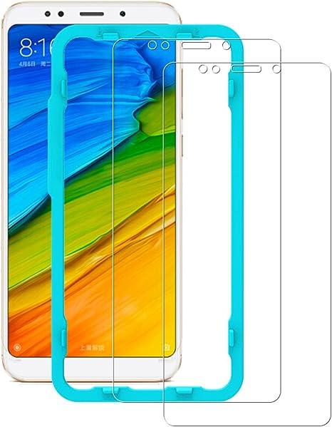 Flos Protector Pantalla Xiaomi Redmi 5 Plus [2 Piezas] [Fácil de Instalar] [Garantía de por Vida], Cristal Templado 9H Dureza [3D Touch Compatible], Anti-Huella para Xiaomi Redmi 5 Plus: Amazon.es: Electrónica